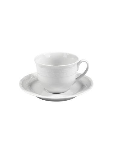 Kütahya Porselen Lalezar 12 Parça Çay Takımı Renkli